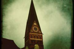 Lüneburg im Regen